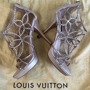 Louis Vuitton Size 37 (7 US) Swaroski Crystal Heel